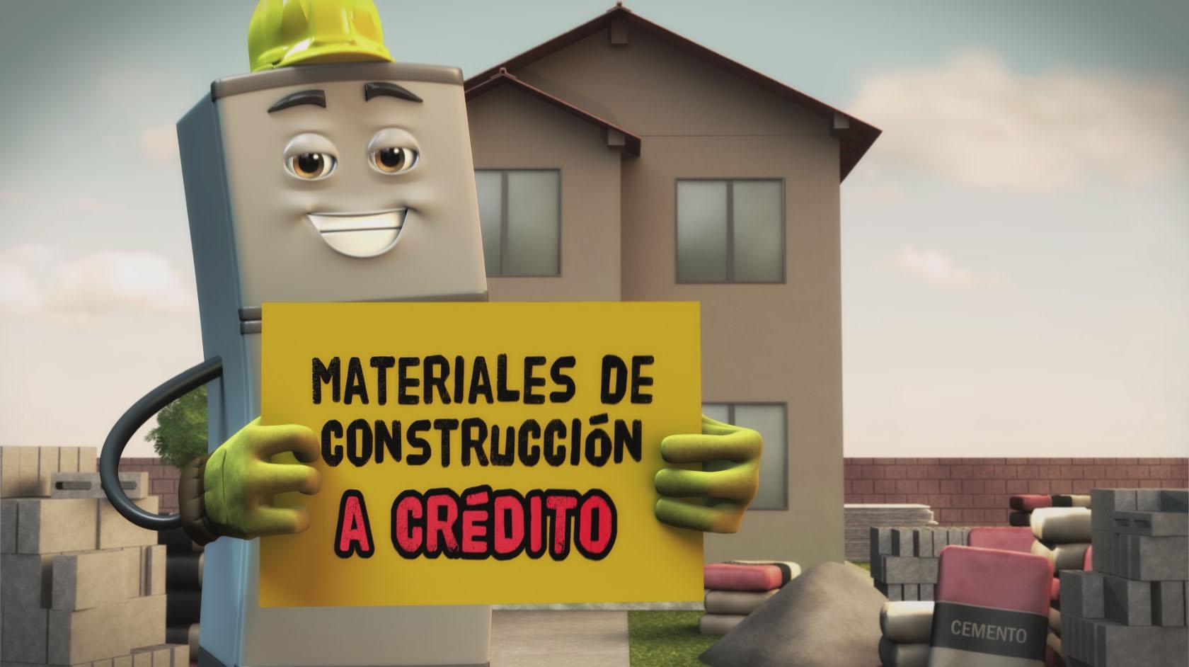 Artefacta materiales de construcci n nodo animation studios - Casa de materiales ...